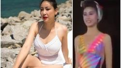 """Hà Kiều Anh bất ngờ """"đào lại"""" clip trình diễn bikini nóng bỏng 28 năm trước khiến dân tình """"dậy sóng"""""""