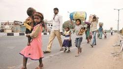 Hơn 10 triệu lao động nhập cư Ấn Độ phải đi bộ về quê vì Covid-19
