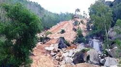 """Bình Định: Khai thác đá trái phép lộng hành trên núi Hòn Chà, Chủ tịch tỉnh """"truy"""" trách nhiệm"""