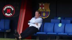 Mới đến Barcelona 1 tháng, HLV Koeman mâu thuẫn với Chủ tịch Bartomeu