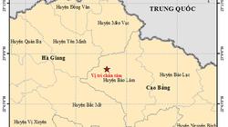 Lại xuất hiện động đất ở Cao Bằng