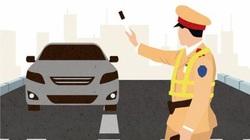 Quy trình dừng xe sai phạm của cảnh sát giao thông