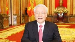 Tổng Bí thư, Chủ tịch nước gửi thông điệp tới Đại hội đồng Liên Hợp Quốc:  Luật pháp quốc tế cần được đề cao