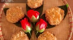 Biến ảo với món bánh gà vàng thơm, giòn rụm, trẻ con nào cũng thích