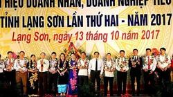 Lạng Sơn tôn vinh 25 doanh nghiệp và 15 doanh nhân tiêu biểu năm 2020