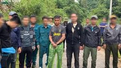 Huy động trên 200 chiến sĩ công an vây bắt chuyên án ma túy khủng ở cửa khẩu Lóng Sập