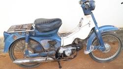 Chứng kiến quá trình phục chế hoàn chỉnh một chiếc Honda Super Cub C50 1978
