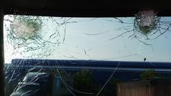 Nhiều xe container bị ném vỡ kính trên quốc lộ 5