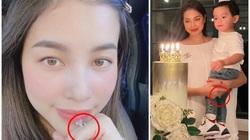 """Phạm Hương đeo nhẫn kim cương """"siêu to khổng lồ"""" trong ngày đặc biệt, fan """"ghen tỵ"""""""