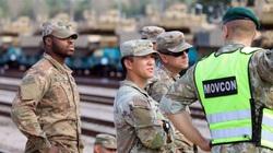 Mỹ điều hàng trăm binh sĩ áp sát biên giới Belarus tập trận