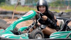 Trường đua F1 mini tại Hà Nội hút giới trẻ dịp cuối tuần