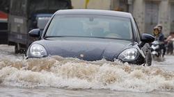 Thủy kích ô tô và những lưu ý khi xe bị ngập nước