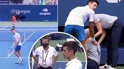 Phản ứng trái chiều của CĐV sau khi Djokovic đánh bóng vào mặt trọng tài nữ