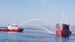 Quảng Ngãi: Cháy, nổ tàu chở dầu tại cảng Dung Quất, 1 người mất tích