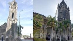 Hải Dương: Nhà thờ xây xong 2 tháp chuông bị nghiêng suốt hơn 100 năm cho tới tận bây giờ