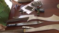 Huế: Tóm gọn băng côn đồ vác dao, roi điện đi đánh nhau giữa ban ngày