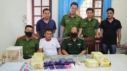 Nghệ An: Phá đường dây ma túy lớn, bắt 4 đối tượng cộm cán