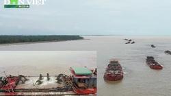 Nóng: Ngang nhiên khai thác cát tàn phá bãi biển khu du lịch tại Nam Định?