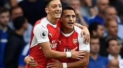 Mesut Ozil chọn đội hình hay nhất Arsenal: Có Sanchez và Aubameyang