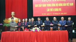 Bế mạc Hội nghị Ban chấp hành T.Ư Hội NDVN lần thứ 6 (khóa VII)