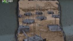 Vụ xây 65 trụ bê tông không phép trên bãi biển: Chủ tịch tỉnh phê bình Sở Xây dựng, UBND thành phố Quy Nhơn