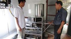 Quảng Trị: Ông nông dân này làm ra máy tự động liên hoàn gì để được Cục Sở hữu trí tuệ cấp bằng sáng chế?