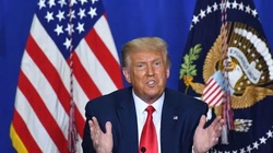 Trump gửi thông điệp bí mật cho người ủng hộ?