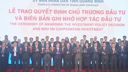 Nguồn vốn khổng lồ đầu tư vào tỉnh Quảng Bình