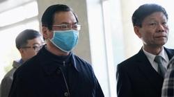 Bất ngờ với hình ảnh cựu Bộ trưởng Vũ Huy Hoàng tại tòa