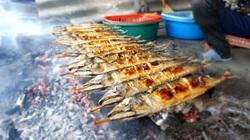Hà Tĩnh: Thứ cá biển này đem nướng than hoa, khách đi đường chưa thấy đã thèm, xem tận nơi ăn cho bằng được