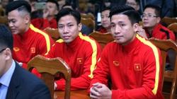 Ảnh: Quế Ngọc Hải, Bùi Tiến Dũng đến tham dự lễ công bố trang phục mới cho đội tuyển bóng đá quốc gia