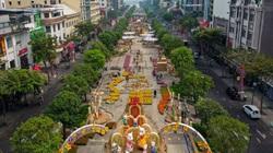 TP.HCM: Nhiều tuyến đường bị cấm và hạn chế lưu thông để thi công đường hoa Nguyễn Huệ