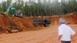 """Dùng """"đất lậu"""" thi công gói thầu Nhà nước hơn 12 tỷ đồng ở Bình Định: Có thể bị khởi tố?"""
