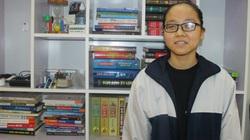 Hà Tĩnh: Nữ sinh khiếm thị giành giải ba học sinh giỏi Quốc gia