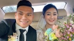 """Xuân Mạnh và vợ gặp """"sự cố"""" trong ngày cưới"""