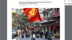 Hàng loạt hãng tin, truyền thông quốc tế đưa tin về Đại hội XIII của Đảng