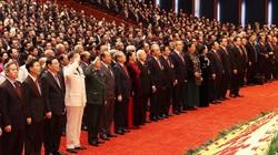 Hình ảnh lễ khai mạc trọng thể Đại hội lần thứ XIII Đảng Cộng sản