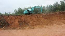 """Bình Định: Sẽ hợp thức hóa """"đất lậu""""… từ mỏ có giấy phép để thi công công trình Nhà nước hơn 12 tỷ đồng?"""