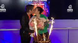 Củng Lợi đón sinh nhật đêm giao thừa, nhà Trương Nghệ Mưu tung ảnh chào năm mới