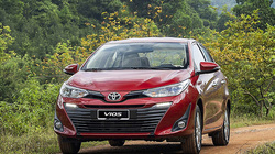 Xe Toyota Vios giá lăn bánh bao nhiêu tháng 1/2021?