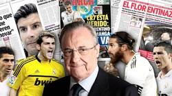"""Top 5 công thần bị chủ tịch Perez """"đuổi cổ"""" khỏi Real Madrid: Có Ronaldo"""