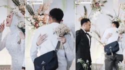 Cô dâu xin phép chồng ôm người yêu cũ trong đám cưới gây sốt mạng
