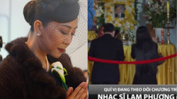Phút cuối tiễn biệt nhạc sĩ Lam Phương khiến MC Kỳ Duyên nghẹn lòng, khán giả tiếc thương