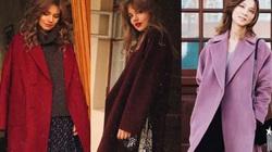 18 áo khoác giúp chị em ghi điểm, làm sáng bừng mùa đông ảm đạm