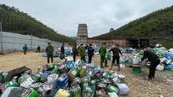 Cảnh sát đột nhập lò đốt chất thải nguy hại trái phép, công suất 50 tấn/ngày ở Bắc Giang