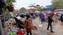"""Hải Phòng: Danh tính tài xế lái xe """"điên"""" đâm vào chợ khiến nhiều người bị thương"""