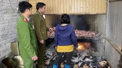 Đột kích lò sản xuất mỡ bẩn tại Thanh Hóa