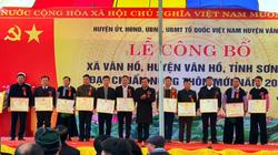 Sơn La: Thêm 2 xã Tô Múa và Vân Hồ cán đích nông thôn mới