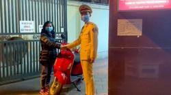 Cảnh sát giao thông truy đuổi trộm trên phố Hà Nội