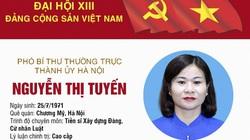 Chân dung nữ Phó Bí thư Thành ủy Hà Nội trúng cử BCH Trung ương Đảng khóa XIII
